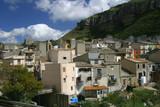 Der Mafiaort Corleone im Innern von Sizilien, Provinz Palermo