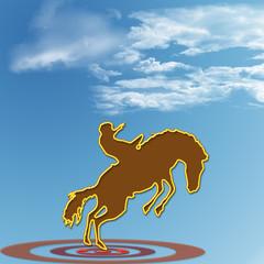 cavallo rodeo