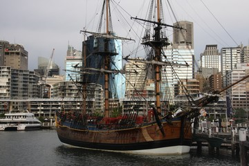 Sydney and the Endeavour