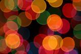 Colorful Defocused Lights poster