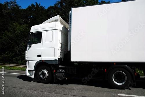 Lastwagen Poster