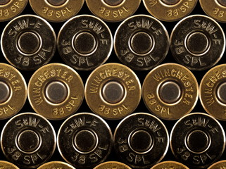 stacked bullets - rims - .38 special