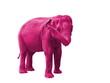 elephant rose, symbole du delirium tremens