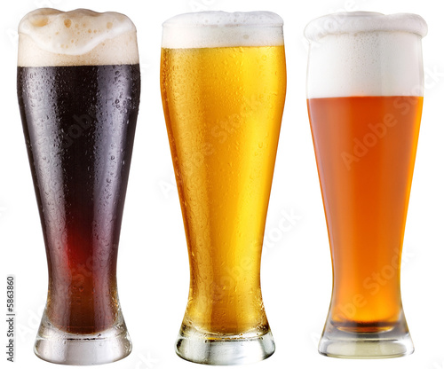 beer; object on a white background