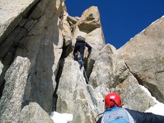 arrampicare su misto