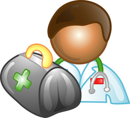 Illustration of a doctor icon