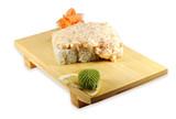 Sushi roll lava maki  poster