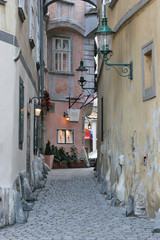 Small street in Vienna
