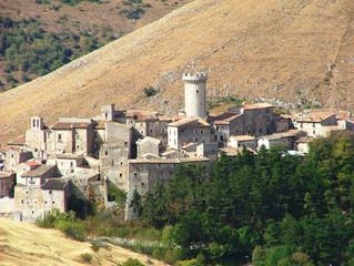 Santo Stefano di Sessanio, Veduta del Borgo