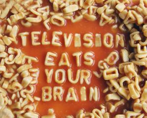 subversive spaghetti message!!