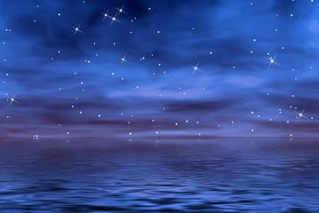noche azul
