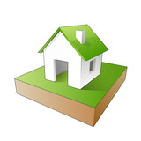 Maison avec terrain poster