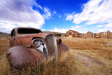 Rusted Classic Auto and Ghost Town-