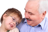 grandfather grandson poster