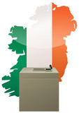 Election Irlandaise poster
