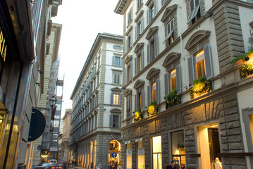 Streetview of Florance Italy