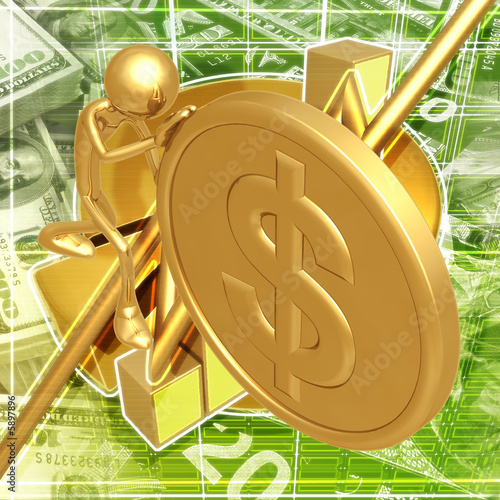 Push Gold Coin