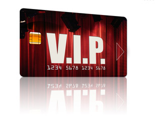 vip carte badge privilège personne important
