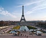 La tour Eiffel depuis le Trocadéro