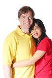Multiracial couple poster