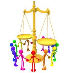 Full Spectrum Unity Equal Justice Scale