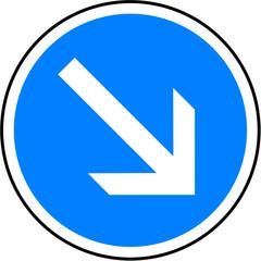 Panneau - contournement