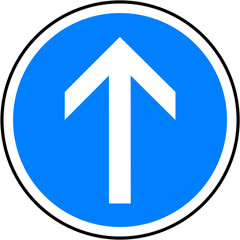 direction obligatoire