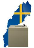 Election suédoise poster