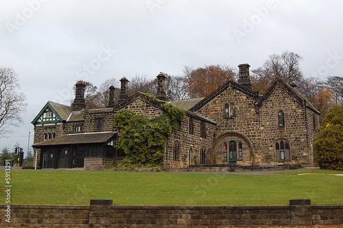 Casa di campagna inglese di eyma foto stock royalty free for Piani di casa di campagna inglese