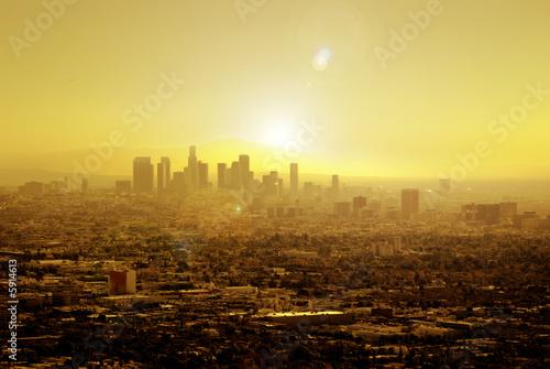 Fotobehang Los Angeles Sun Soaked Los Angeles