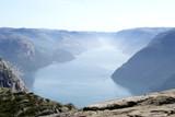Norwegian fjord geirangerfjord poster