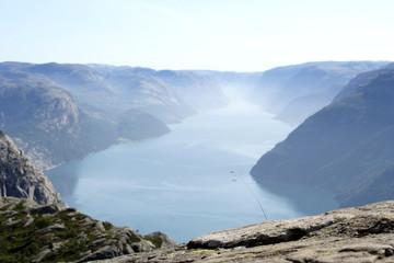 Norwegian fjord geirangerfjord
