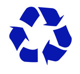 recycling logo poster