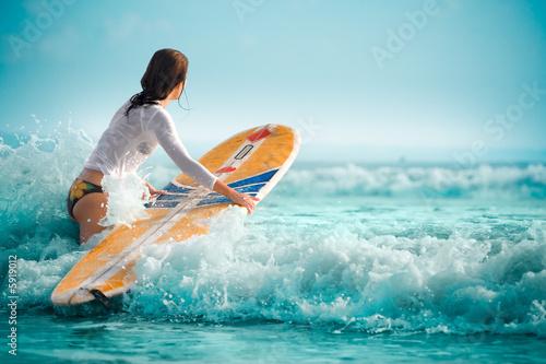 Zdjęcia na płótnie, fototapety, obrazy : sexy surf 11