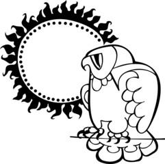 owl vector silhouette