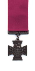 British Victoria Cross - Crimson Ribbon