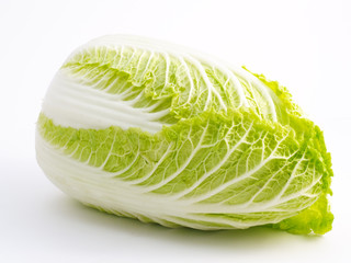 bok choy isolated on white background
