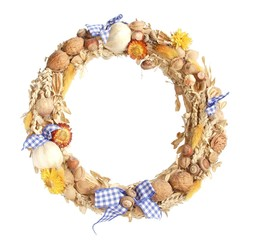 A traditional peasant wreath