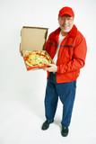 Pizza man deliver poster