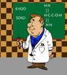 Verrückter Wissenschaftler - Illustration Vector