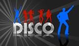 silver disco poster