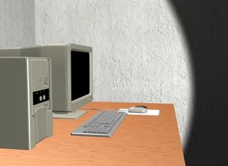 Computer Desktop - Rendering 3D effettuato con 3ds Max
