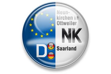 Autokennzeichen: NK, Neunkirchen in Ottweiler, Saarland