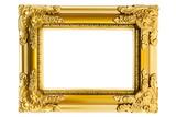 Fototapety Gilded Plastic Frame