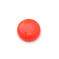 magnet bouton rouge