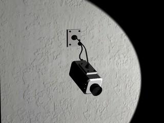 Telecamera per videosorveglianza - Rendering 3D con 3ds Max
