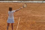 tennis stroke poster