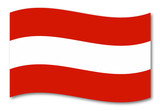 österreich austria fahne schatten poster