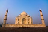 The Taj Mahal mausoleum - Agra, Uttar Pradesh, India poster