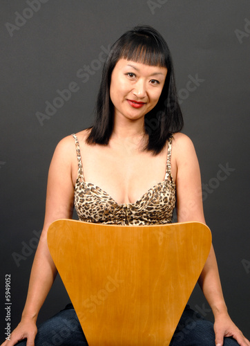 Portrait of an Asian Woman